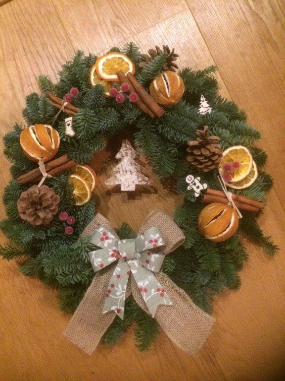 Christmas wreaths by Amethyst